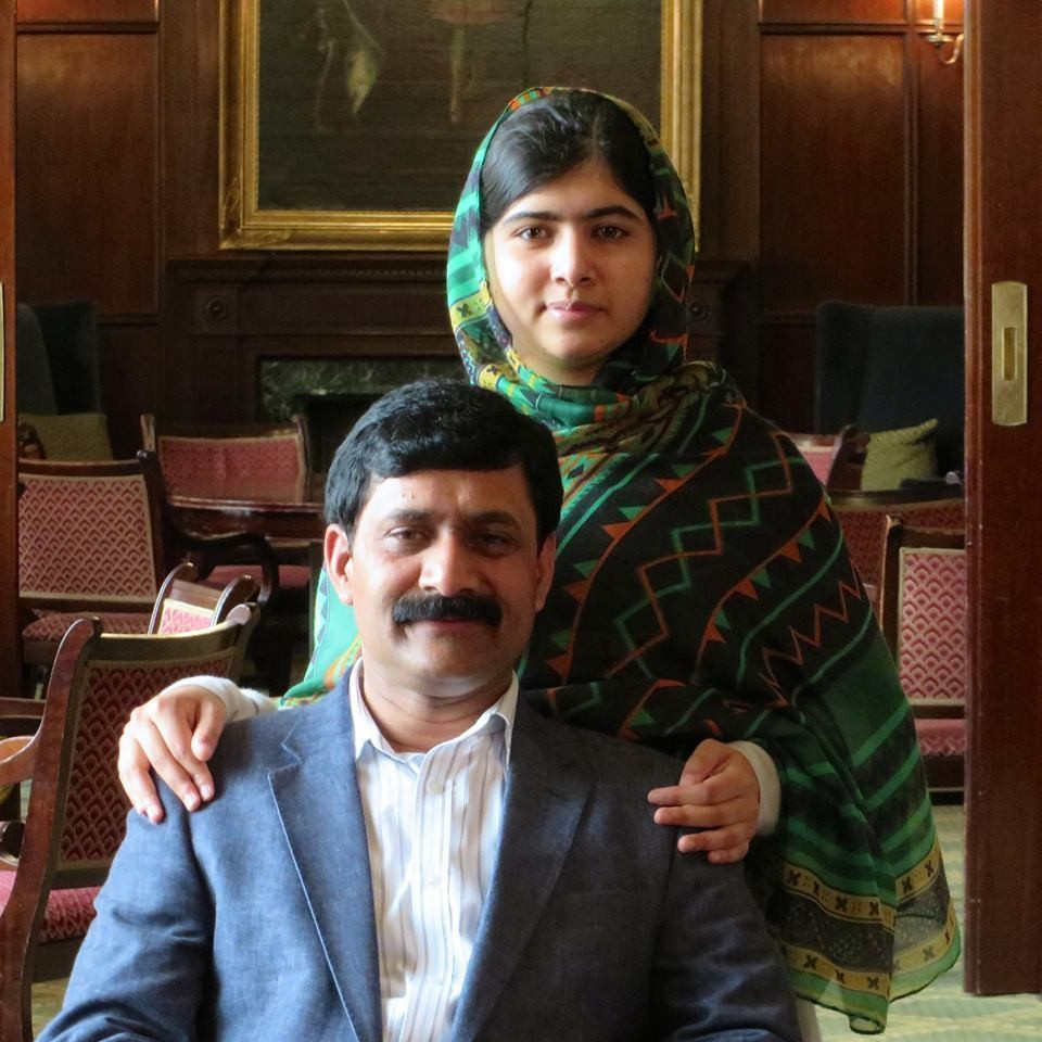Photo courtesy of the  Malala Fund blog
