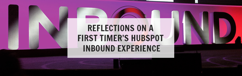 inbound first timer's Hubspot inbound experience greengate-marketing.com