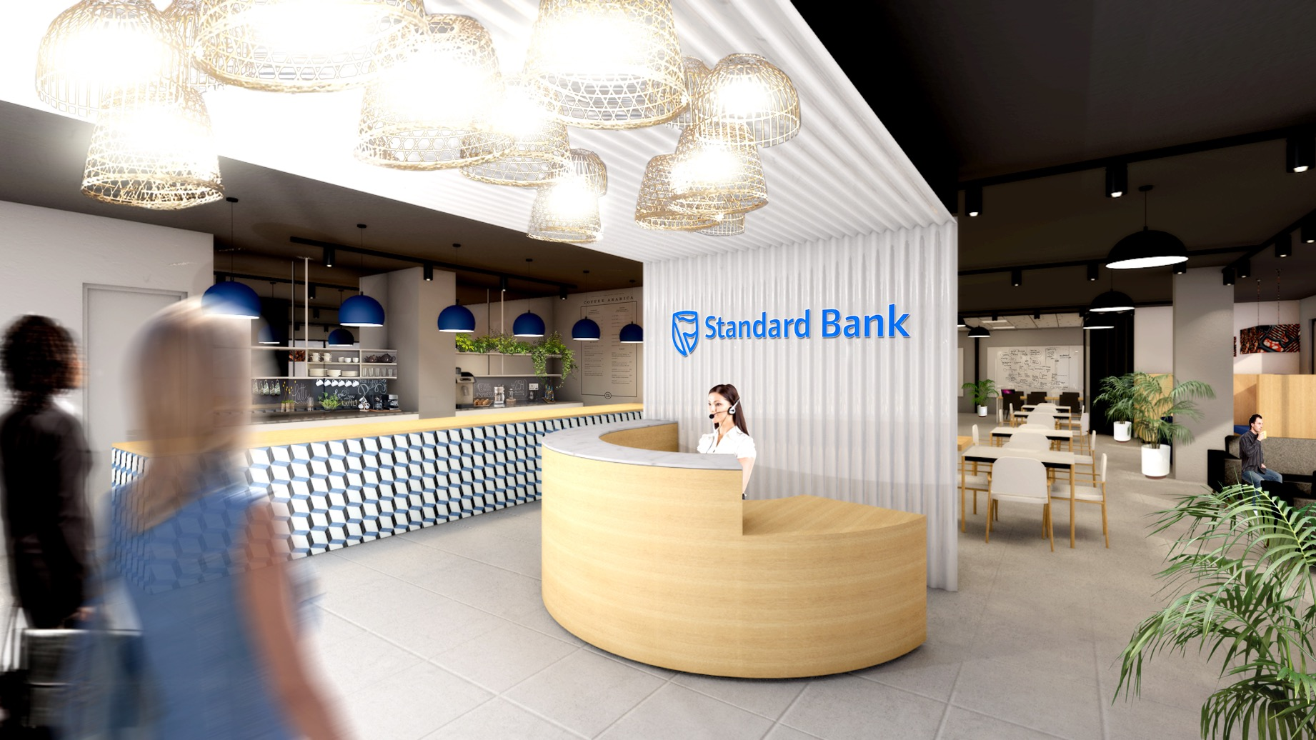 Image result for standard bank receptionist