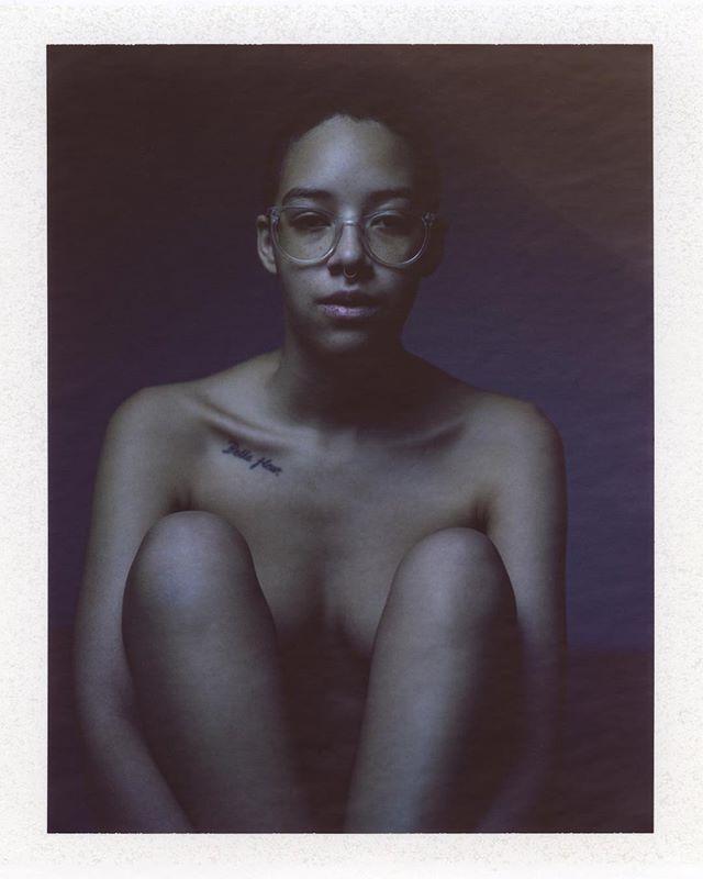 @sebastianrosemarie in blue Polaroid