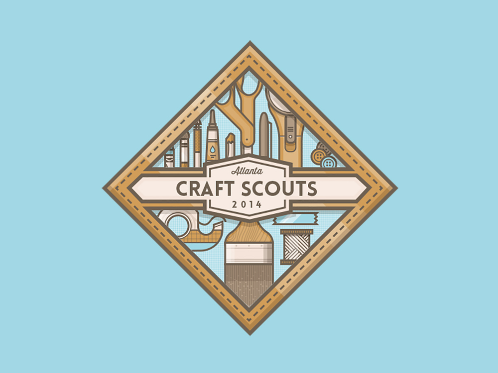 Atlanta Craft Scouts badge