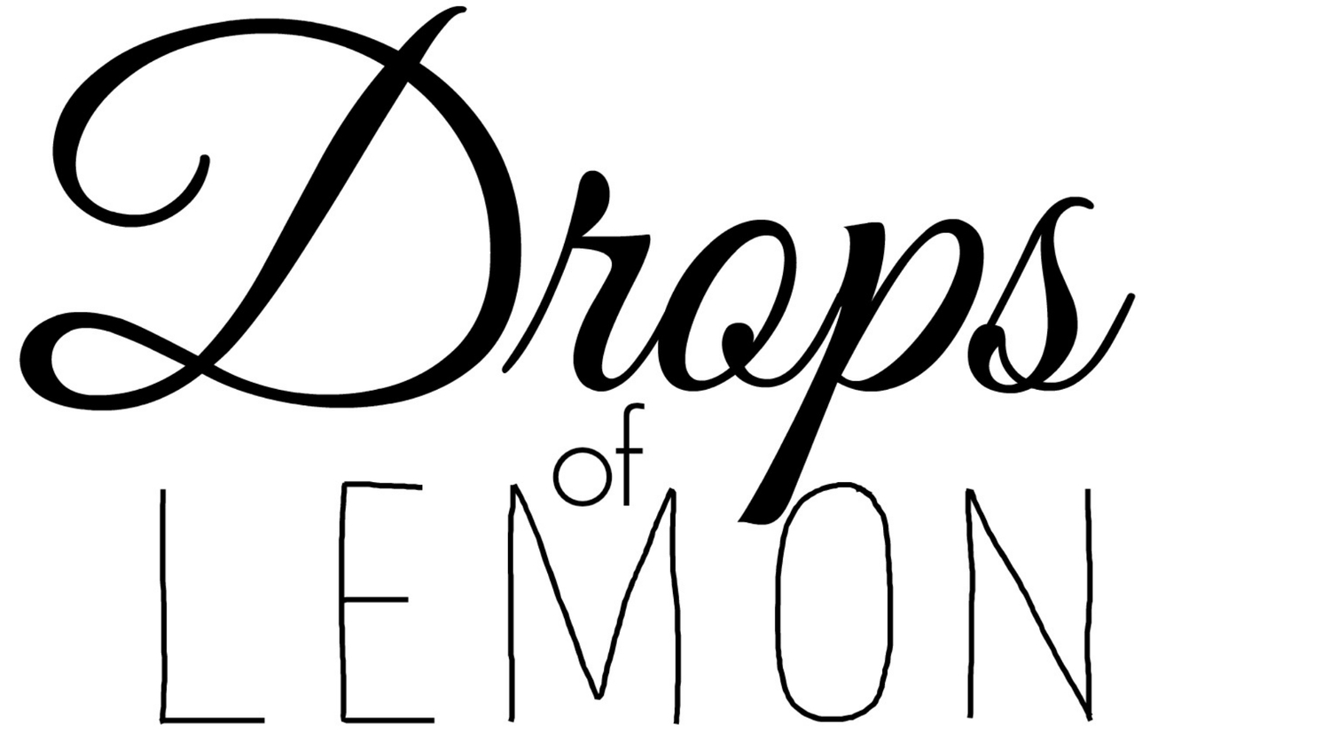 Drops Of Lemon