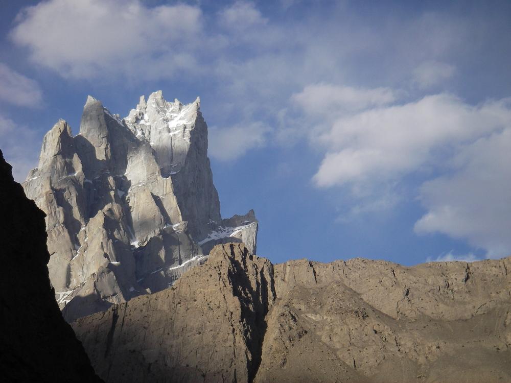 The mighty Amin Braq near the Hushe Valley, Pakistan
