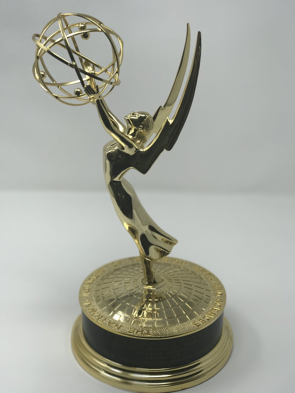 "2014 Sports Emmy Award for Outstanding Technical Team ""Premier League"" NBC/NBCSN"