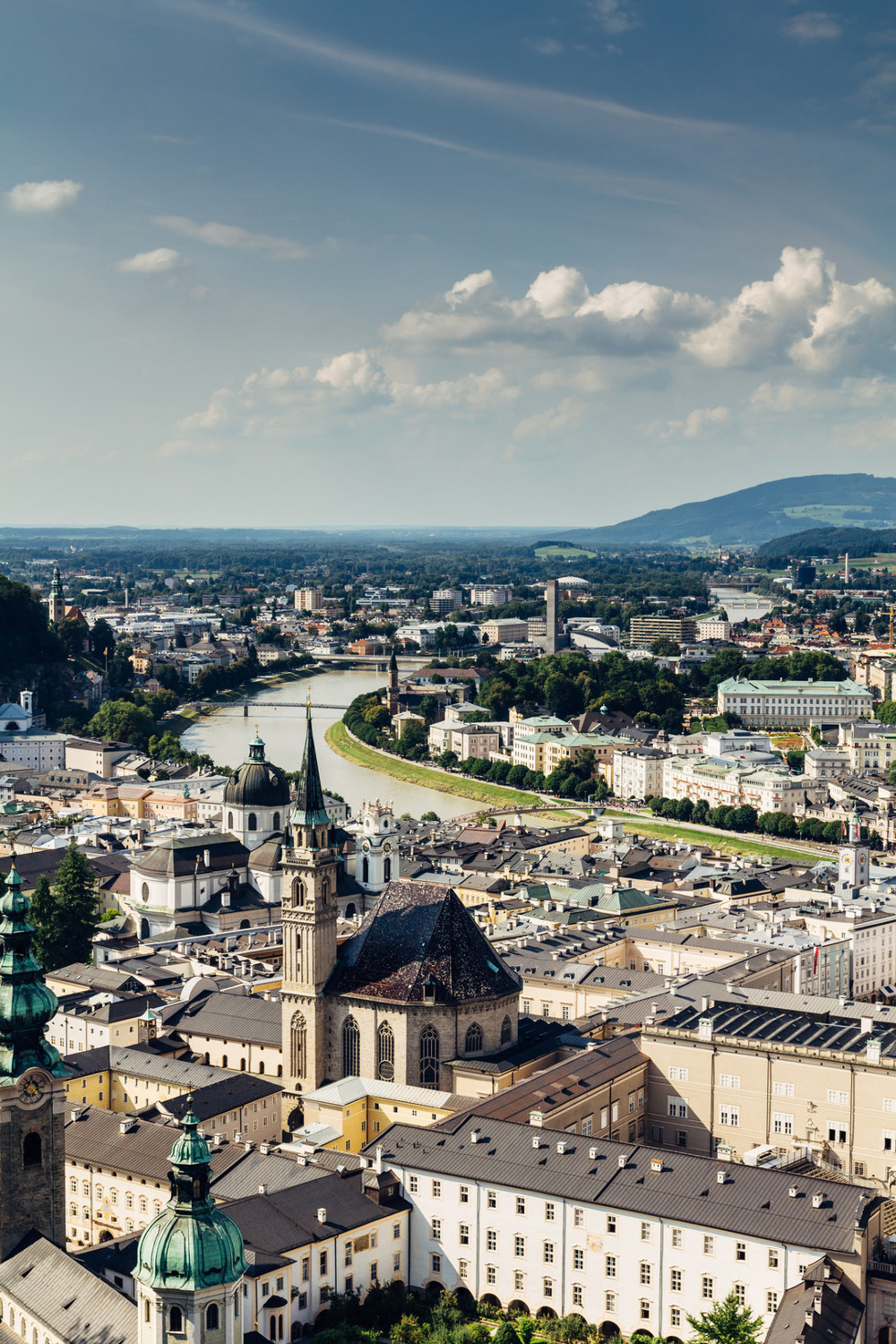 allthingseurope :      	Salzburg Skyline ( by Michelle Cardwell )
