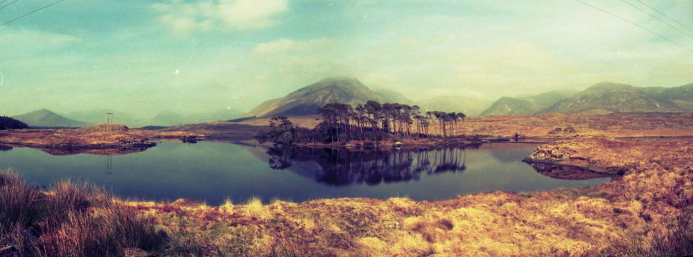 lomographicsociety :      Lomography Tag of the Day -  lake