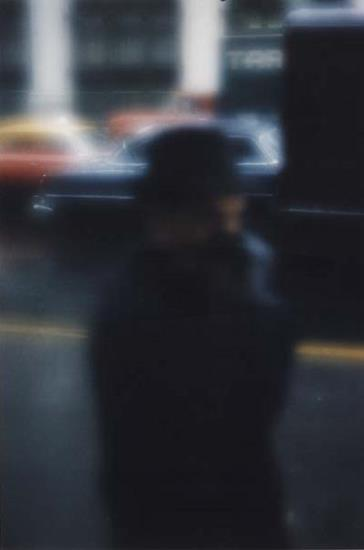 liquidnight :      Saul Leiter   Street Scene, NY, 1958  [via  Phillips ]