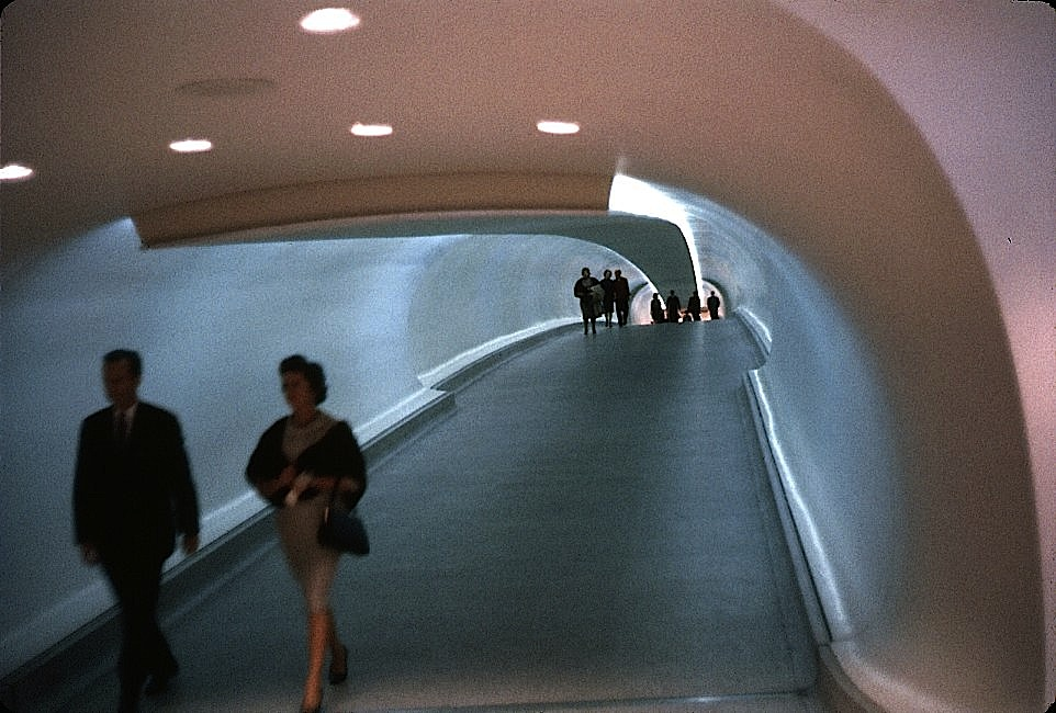 vintagetravels: TWA Flight Center, Idlewild Airport, October 1962