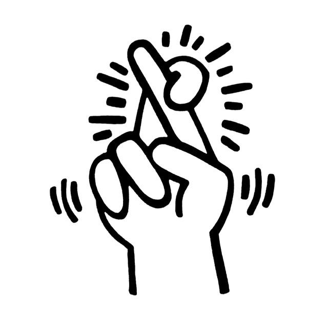 aslsinglesclub :   by  Keith Haring