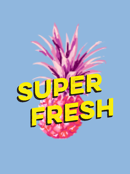 Super Fresh! - Art Print
