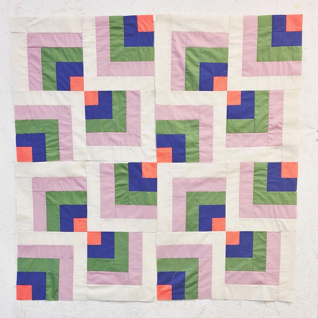maranon: A ton of other steps to go. Quilt making is daunting but evidently I'm into it.