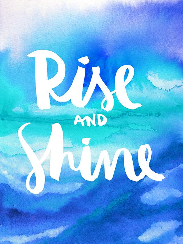 Rise & Shine [Galaxy Eyes & Jacqueline Maldonado]    ART PRINT