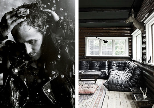 Hey Girl…     How did I miss this?     Apartment Therapy  has put together two things I love: Decor and Mr. Gosling. Alison Brislin paired beautiful interior photos with gorgeous shots of Ryan Gosling. It's like what Victoria Smith does in  Separated at Birth , probably my favorite section of  SF Girl By Bay .   Oh, and don't skip the captions! They're hilarious.