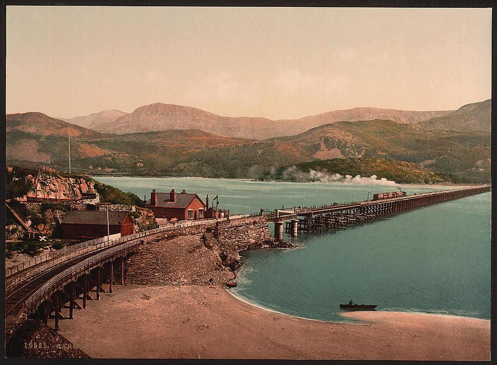 Barmouth, Wales. 1890 - 1900