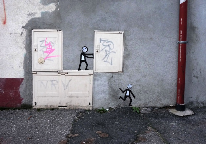 Clever and Cute Street Art
