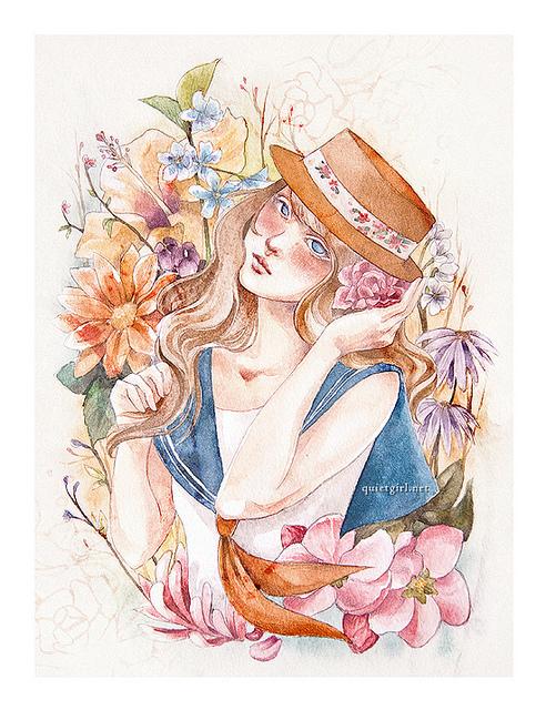 artpixie :      Spring's Eve  (by  Valerie Chua )