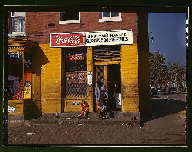 Schulman's Market, Union Street, 1941/1942 Washington DC, USA
