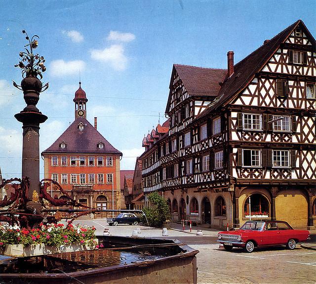allthingseurope: Schorndorf, Germany (1965) (by Martin van Duijn)