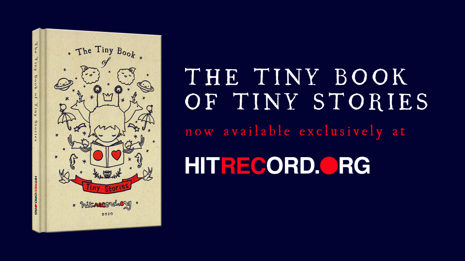 hitrecord :     We hear the print is currently drying on the pages at the printshop in Iceland.  Then they'll be bound and shipped to YOU in time for the holidays! :D    hitrecordjoe :     We made a book!  Get it  here .       We made it!