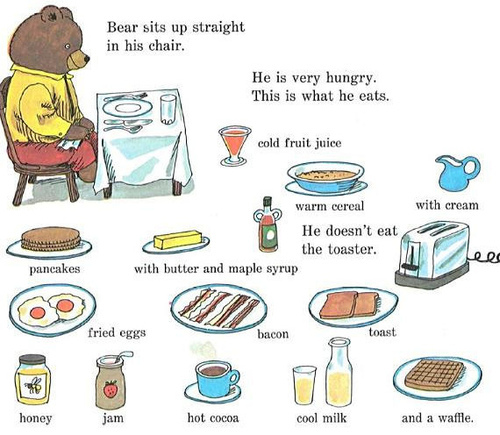 I'm a hungry bear :)