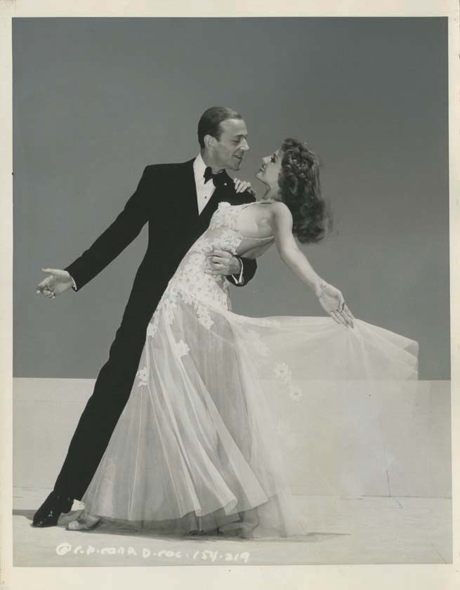 fuckyeahvintage: Fred Astaire & Rita Hayworth