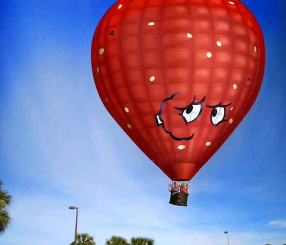 thedailywhat :      Hot Air Balloon of the Day:  Get all the honeys in your fully-customized Meatwad-themed hot-air balloon from Adult Swim.  Only $70,000 ! (Purchase is non-refundable.)   And you thought the  Dethklok fountain  was nuts.   [ nerdapproved .]      !!!!!!!!!!!!!!!!!!!!!!!! <3