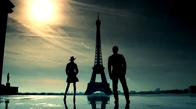 The photography in  this film  stroke me - It was so beautifully done. If Jude Law and Paris weren't gorgeous enough.