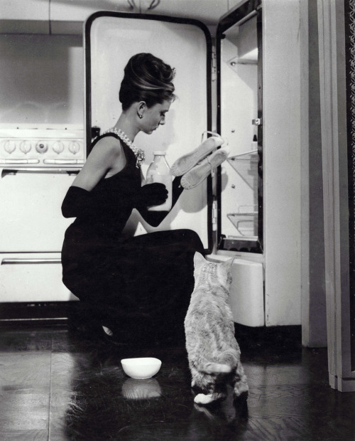 audreyhepburncomplex :  foralskelse :  suicideblonde : Breakfast at Tiffany's