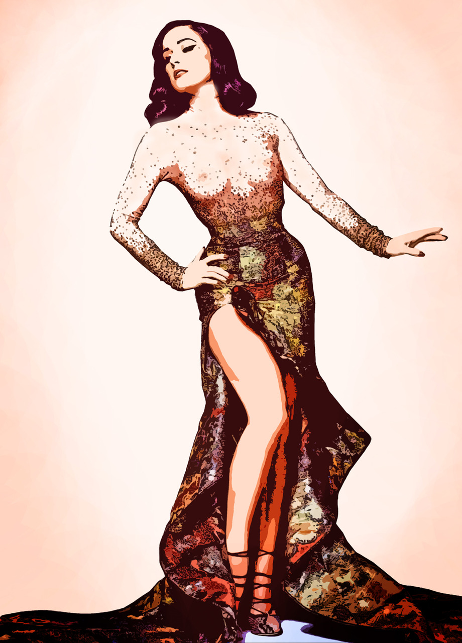 "colorsofthewind :      awakeinadream :      fairytaleglamour :      meaghan-antoinette :      underthered :     ""It`s not about seducing men, it's about embracing womanhood.""   - Dita von Teese     I love this version of the picture the best!"