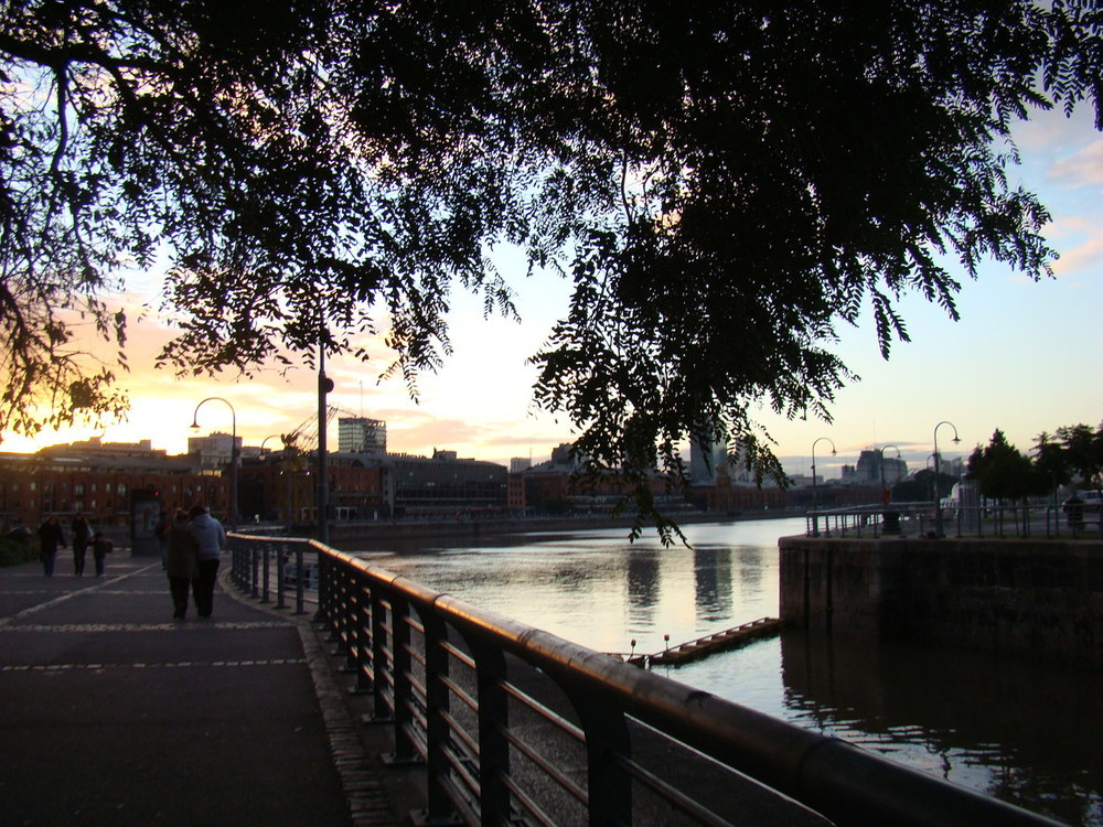 Evening in Buenos Aires (Puerto Madero).