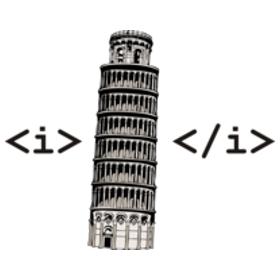 imaginarium:gamefreaksnz:Html Pisa t-shirt(via gamefreaksnz)