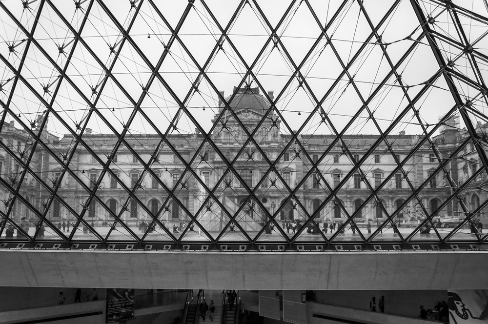 The Louvre, Paris, France. 2012