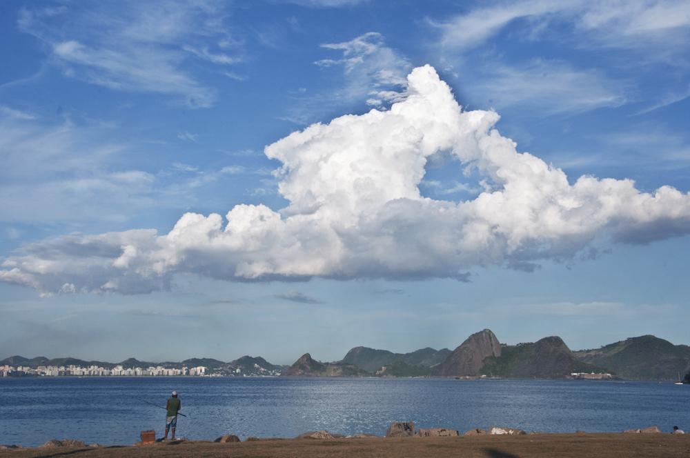 Fisherman,Rio de Janeiro, Brazil. 2014