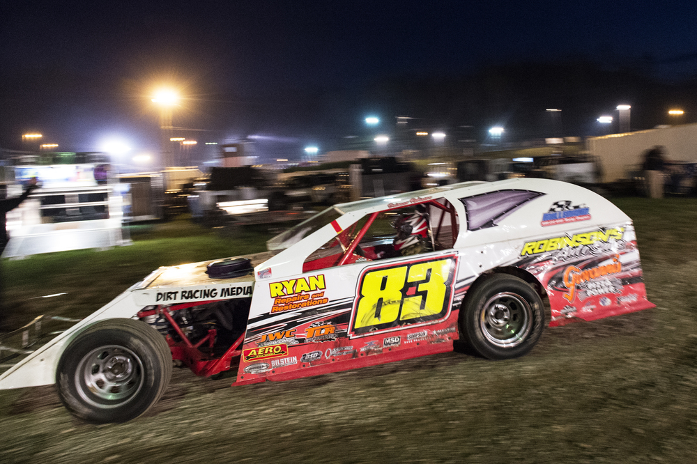 Brianna usually races her E-mod on Friday nights and her modified on Saturday nights, but at certain tracks she can race both on the same night.
