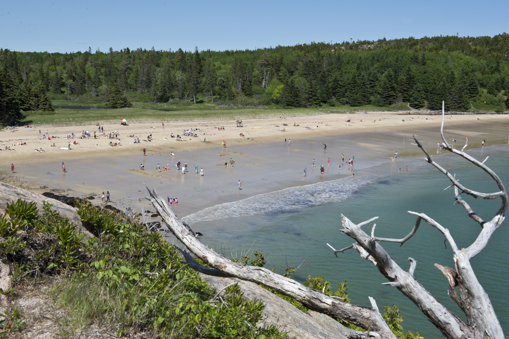 Sand Beach, Acadia National Park, Maine. 2015
