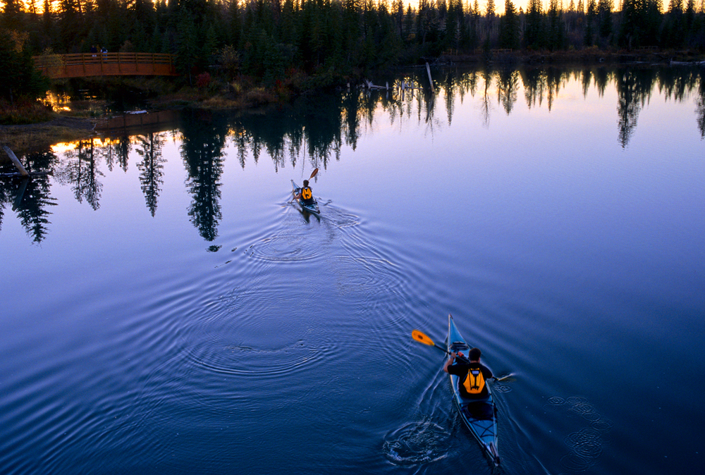 PS79  Kayakers on Elbow river twilight.jpg