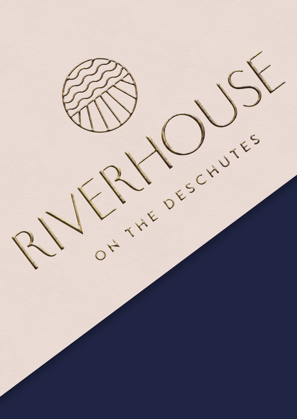 Riverhouse visual identity, visitor experience, digital, physical