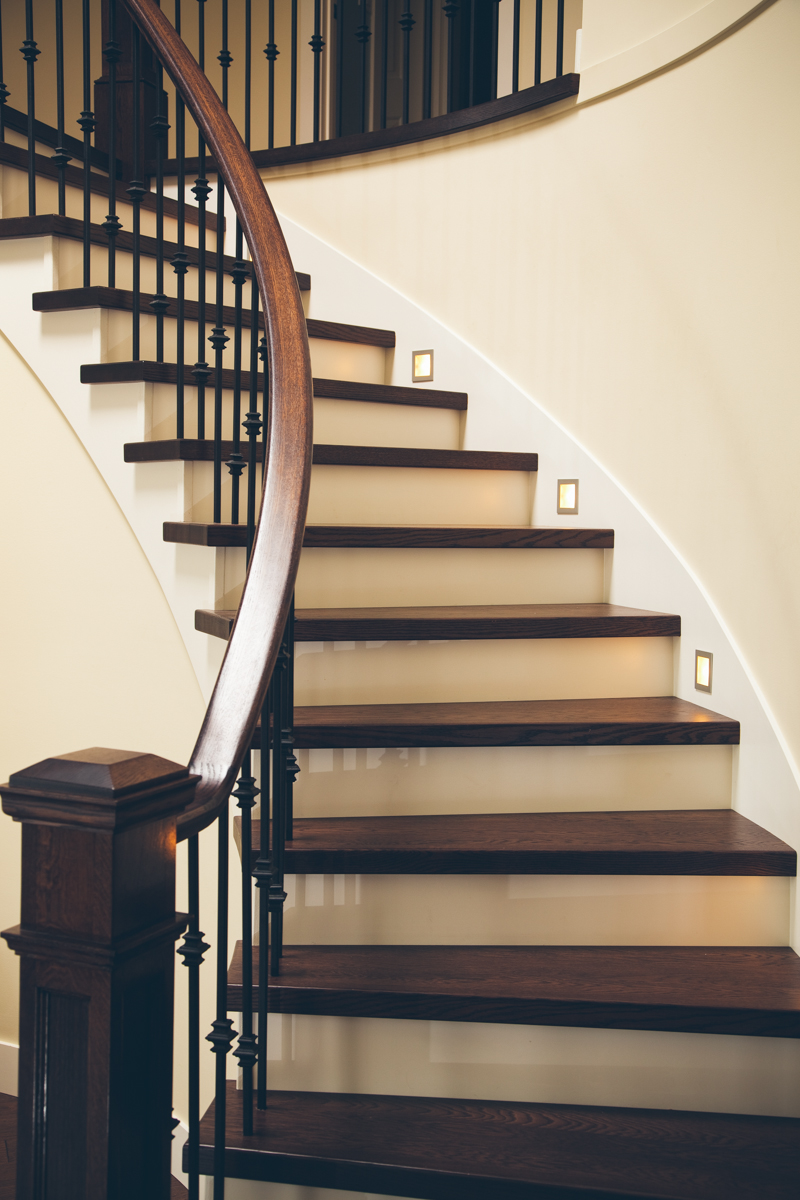 Gallery ascent stair mill reno tahoe staircases for for Custom stairways