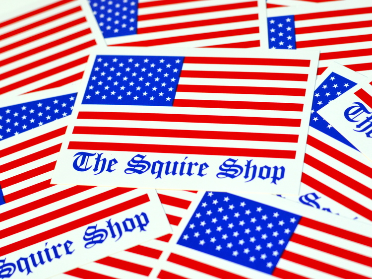 FREE American Flag Stickers...