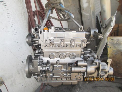 Engine after repaint
