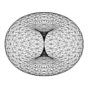 A torus can have spin... like the galaxy... it has spin... like.. META. Doesn't that make a lot more sense than a bunch of spheres floating around in space? Maybe.
