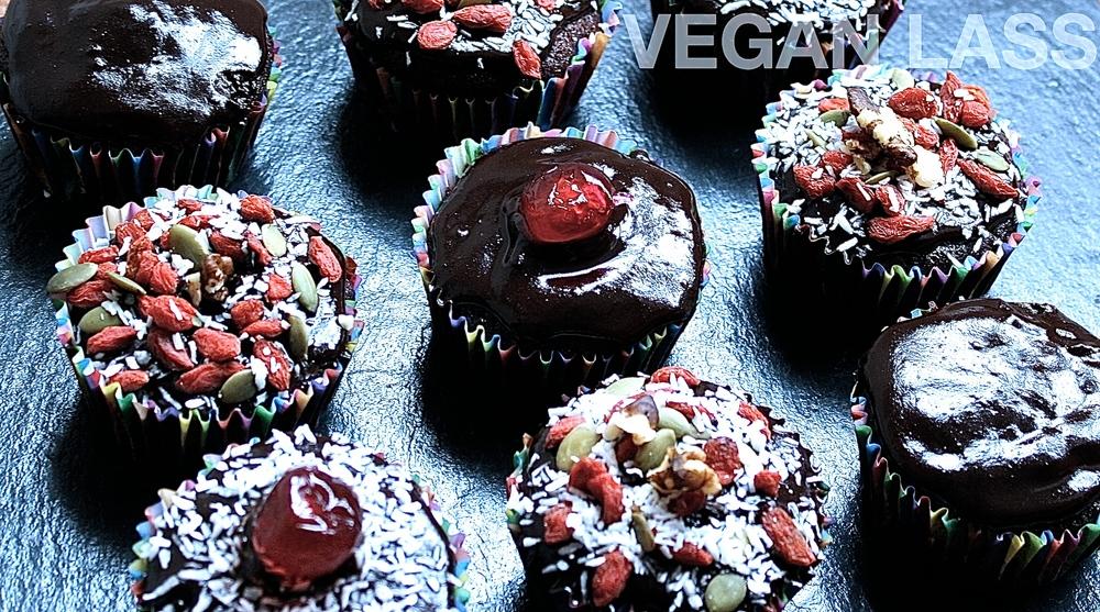 Vegan Lass Dark Chocolate Cupcakes 2