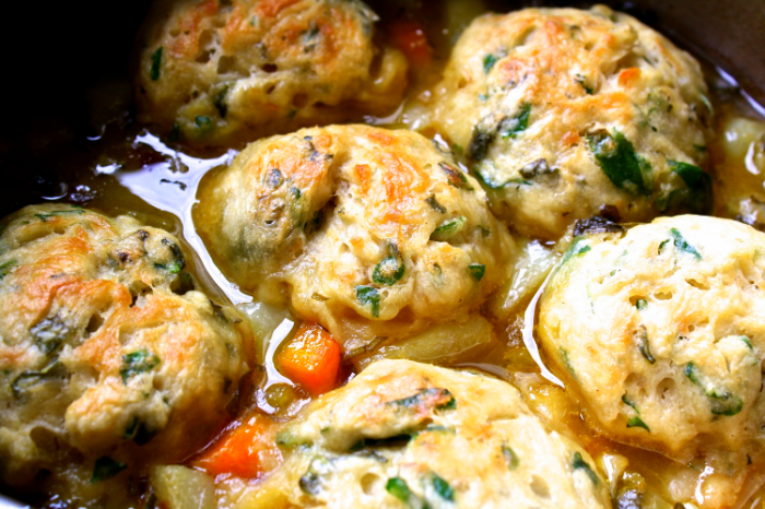 Vegan Lass Butter Bean and Root Vegetable Stew with Herby Dumplings 2