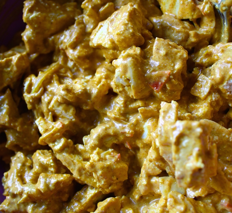 Vegan Lass Coronation Chicken Decolonisation Tofu 1.JPG