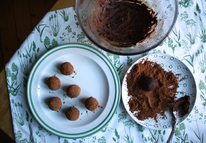 Vegan Lass Dark Chocolate Truffles 2