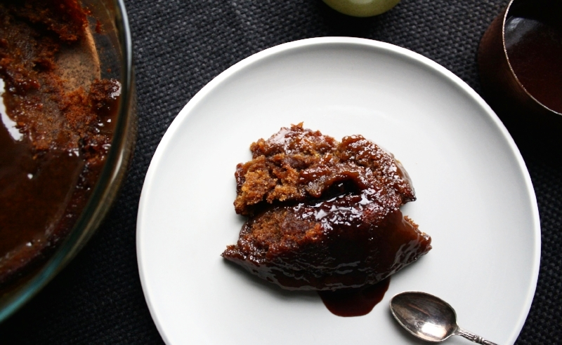 Vegan Lass Sticky Toffee Pudding