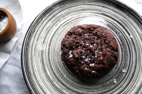 Vegan Lass Salted Double Chocolate Cookies 1