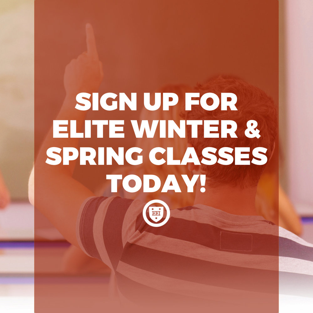 Sign Up for Elite Winter & Spring Classes Today!