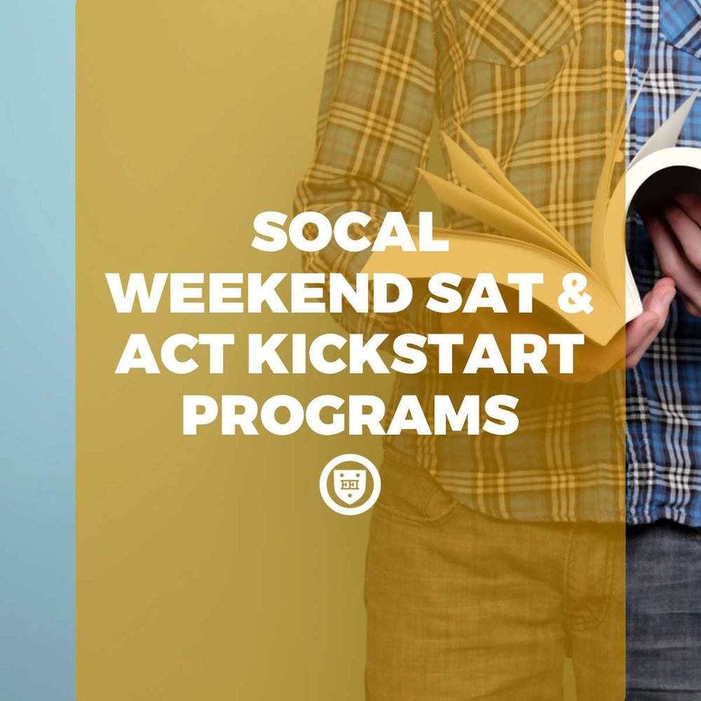 SoCal Weekend SAT & ACT Kickstart Programs
