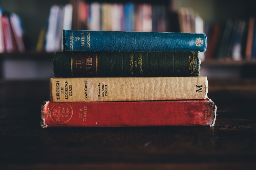 unsplash red green blue book spines.jpg